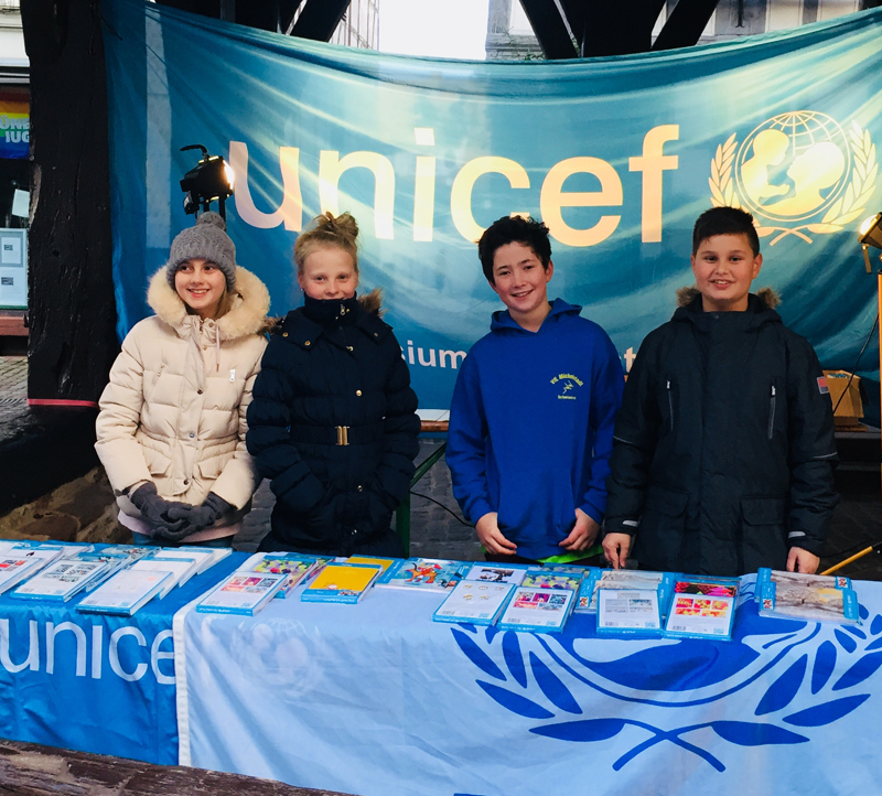 unicef stand 2017